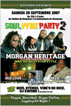News reggae : Morgan Heritage… en sound system !