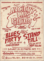 News reggae : Ancient Days Killing : Stand Tall vs. Blues Party