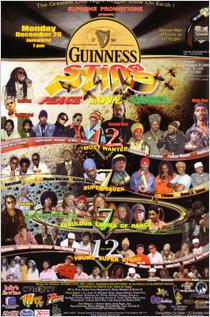 News reggae : Le line up du Sting 2005 enfin dévoilé