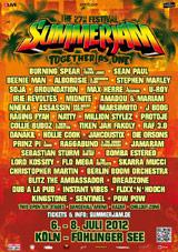 News reggae : L'affiche complète du Summerjam 2012