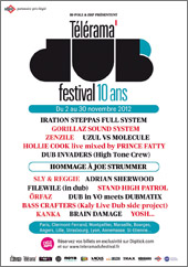 News reggae : Le Télérama Dub Festival fête ses 10 ans