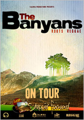 News reggae : The Banyans de retour en France