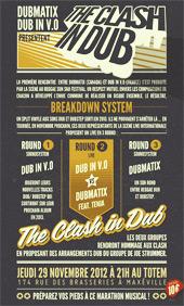 News reggae : Hommage aux Clash avec Dubmatix et Dub in VO