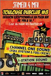 News reggae : Channel One en plein air au Toulouse Dub Club
