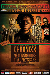 News reggae : Chronixx pour la premi�re fois en France