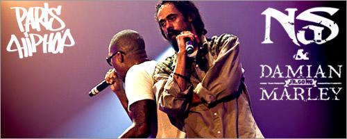 Damian Marley & Nas @ Paris Hip-Hop