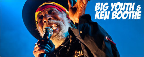 Big Youth et Ken Boothe, r�cital � l'Elys�e