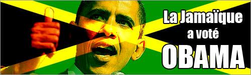 La Jamaïque a voté Obama