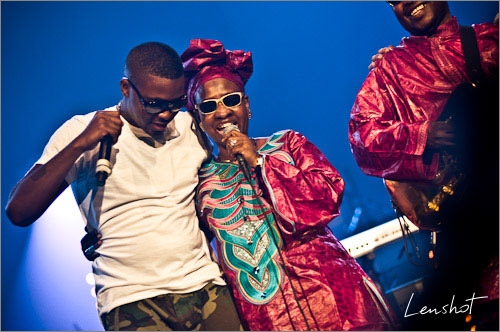 03. Nas, Mariam & Amadou (Zenith de Paris / Juin 2010)