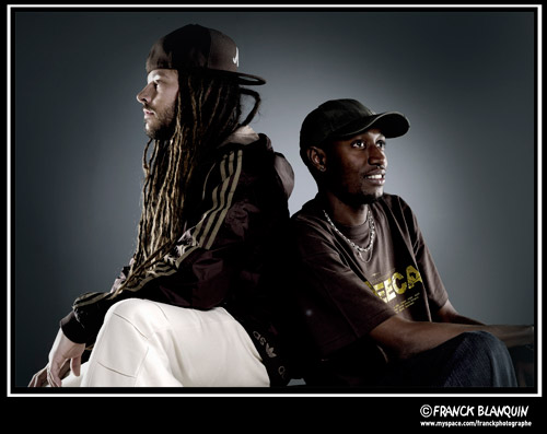 . Balik & Natty (F�vrier 2011 - Studio photo � Clichy)