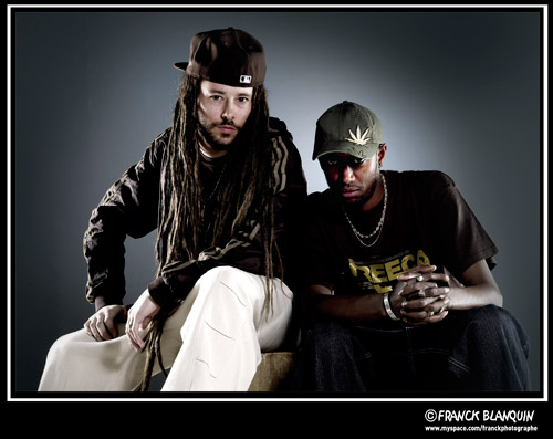 . Balik & Natty. (F�vrier 2011 - Studio photo � Clichy)