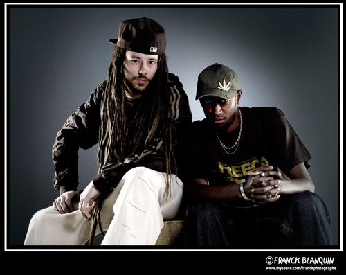 . Balik & Natty. (Février 2011 - Studio photo à Clichy)