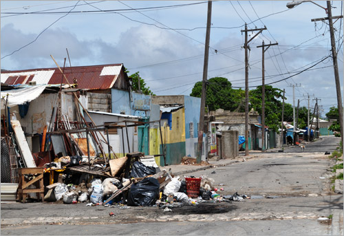 08. West Kingston pendant l'�tat d'urgence en 2010.