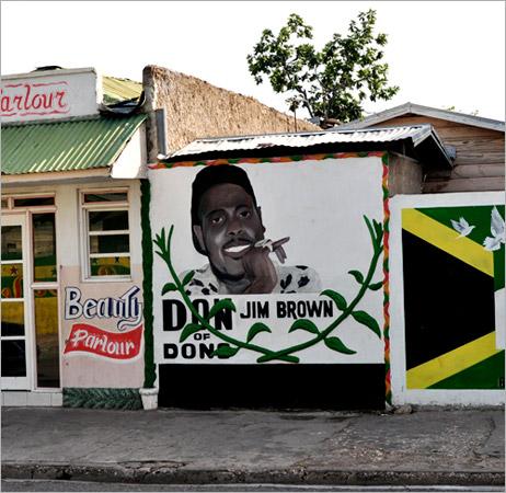 01. Jim Brown, père de Dudus, l'un des Dons les plus puissants que la Jamaïque ait connu.