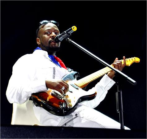 12. Wyclef Jean (Arthur Guinnes Celebration - Kingston 2010)