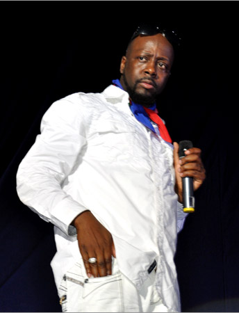 13. Wyclef Jean (Arthur Guinnes Celebration - Kingston 2010)