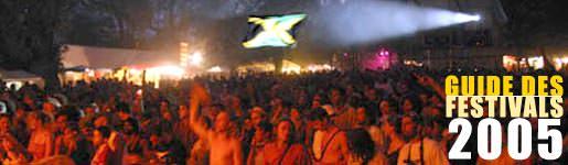 Guide des festivals Reggae 2005
