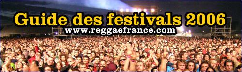 Guide des festivals Reggae 2006