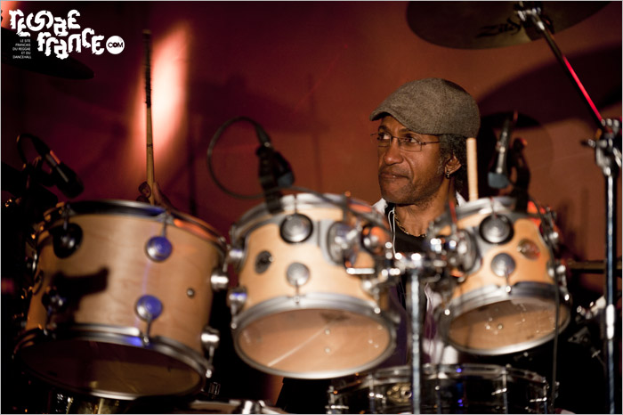 02. Sly Dunbar (répétitions) - La Bellevilloise, Paris (27/11/2012)