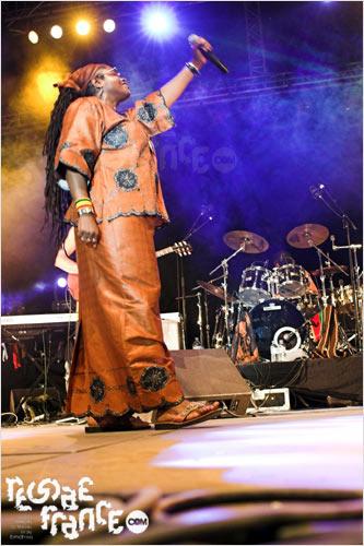Sister Carol (Ja'Sound festival - Août 2005)