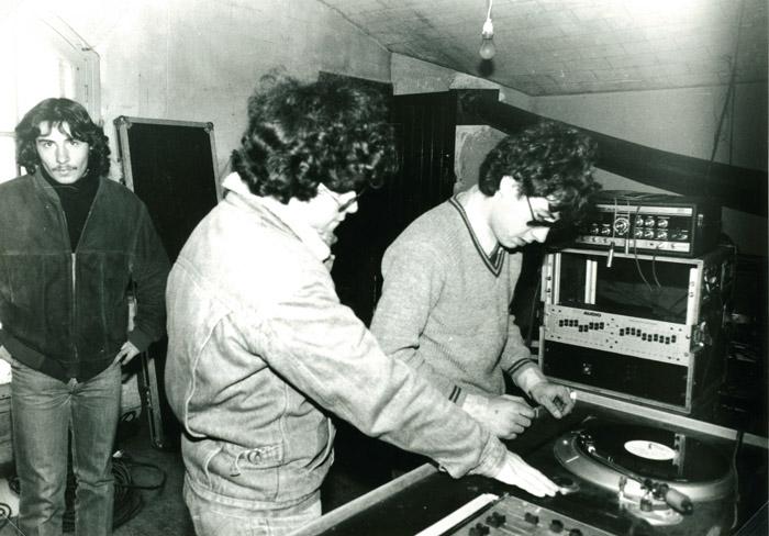 20. Guillaume (I Man Dread) et Michel (Denoisier) - 26 mars 1983 (© Marie Vaneetvelde)