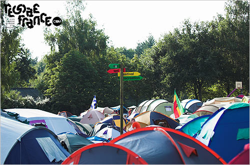 19. Le camping (Reggae Sundance / Août 2007)