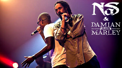 Nas & Damian Marley à Paris