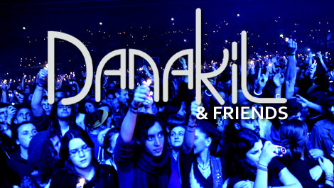 Danakil, grand concert entre amis