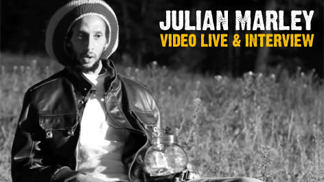 Julian Marley Live & Interview