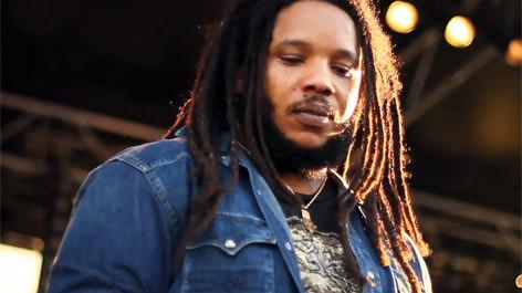 Reportage vidéo : Stephen Marley